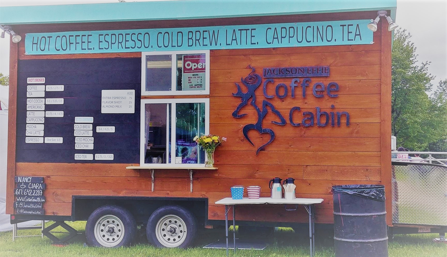 Jackson Effie Coffee Cabin